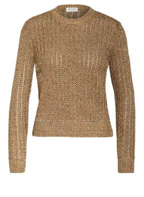 SAINT LAURENT Pullover mit Glitzergarn