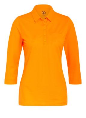 BOGNER Jersey-Poloshirt mit 3/4-Arm