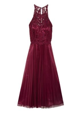 VM VERA MONT Kleid mit Spitzenbesatz