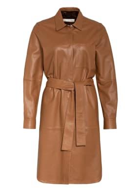 InWear Hemdblusenkleid VINGA aus Leder