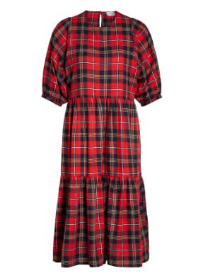 Mrs & HUGS Kleid mit Leinen