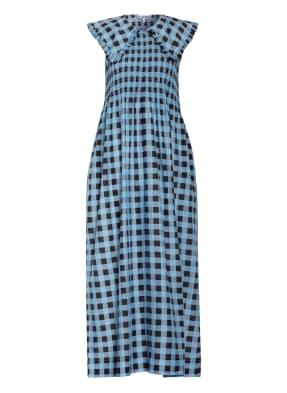 GANNI Kleid mit Seide