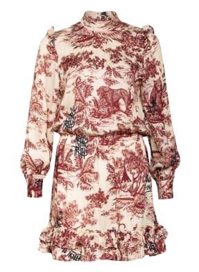 ZADIG&VOLTAIRE Kleid ROCKET JOUY mit Rüschenbesatz