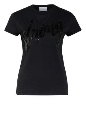Dondup T-Shirt mit Paillettenbesatz