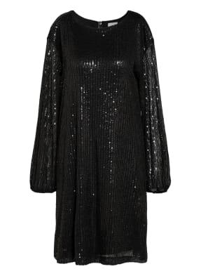 Mrs & HUGS Kleid mit Paillettenbesatz