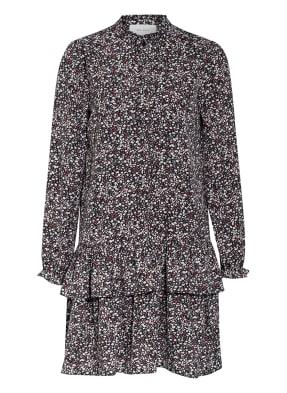 NEO NOIR Kleid mit Rüschenbesatz