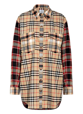 BURBERRY Oversized-Hemdbluse TURNSTONE