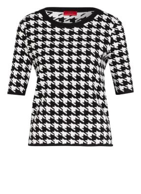 HUGO Kurzarm-Pullover SALMY