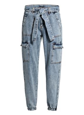 ONE MORE STORY 7/8-Jeans im Jogging-Stil