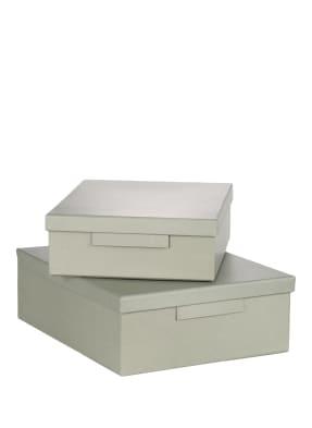MONOGRAPH 2er-Set Aufbewahrungsboxen
