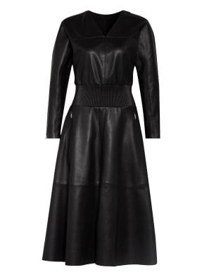 KARL LAGERFELD Kleid in Lederoptik