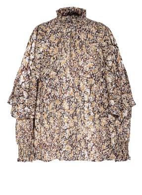 maje Cold-Shoulder-Bluse LETREA