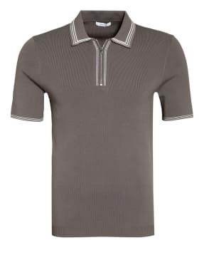 REISS Piqué-Poloshirt STETSON