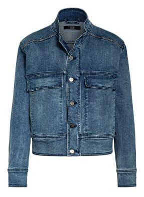 STEFFEN SCHRAUT Jeansjacke mit Metallperlenbesatz