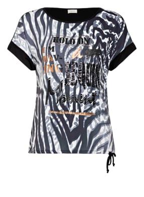 CARTOON T-Shirt im Materialmix