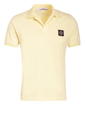 STONE ISLAND Piqué-Poloshirt Slim Fit