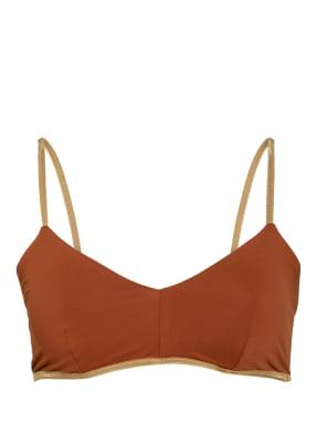 MYMARINI Bustier-Bikini-Top zum Wenden