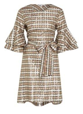 MUNTHE Kleid OLIVIA mit Glitzergarn