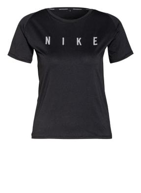 Nike Laufshirt MILER RUN DIVISION mit Mesh-Einsatz