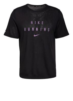 Nike Laufshirt DRI-FIT RUN DIVISION mit Mesh-Einsatz