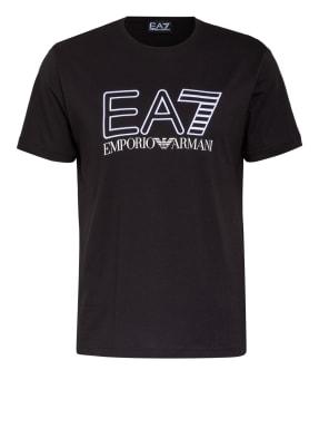 EA7 EMPORIO ARMANI T-Shirt mit Stickereien