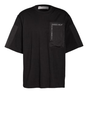 GIVENCHY T-Shirt im Materialmix