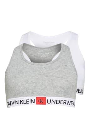Calvin Klein 2er-Pack Bustiers MINIGRAM