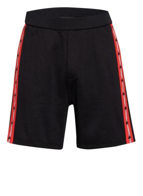 DSQUARED2 Shorts mit Galonstreifen