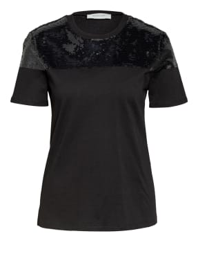 SPORTMAX T-Shirt KENTIA mit Paillettenbesatz