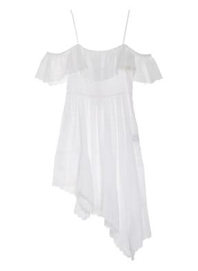 ISABEL MARANT ÉTOILE Off-Shoulder-Kleid TIMORIA mit Lochspitze