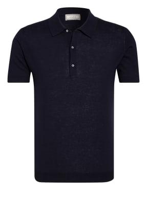 CHAS Strick-Poloshirt Extra Slim Fit
