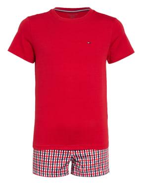TOMMY HILFIGER Shorty-Schlafanzug