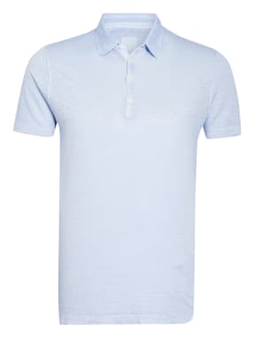 120%lino Jersey-Poloshirt Slim Fit aus Leinen