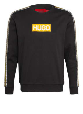 HUGO Sweatshirt DUBESHI mit Galonstreifen