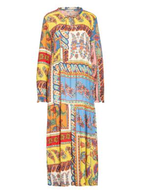 lilienfels Kleid mit Rüschenbesatz