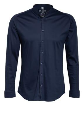 DESOTO Jerseyhemd Slim Fit mit Stehkragen
