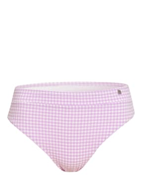 BEACHLIFE Bikini-Hose LILAC CHECK