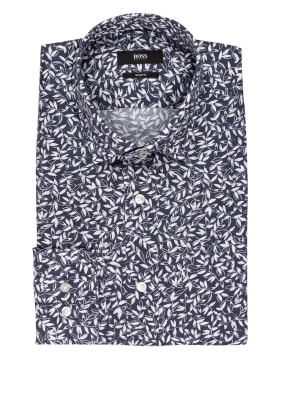 BOSS Hemd JOY Slim Fit mit Leinen