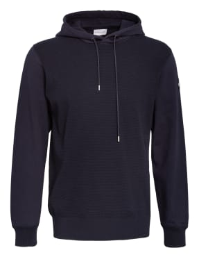 MONCLER Strick-Hoodie im Materialmix