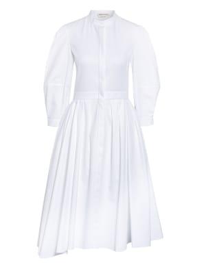 Alexander McQUEEN Hemdblusenkleid mit 3/4-Arm
