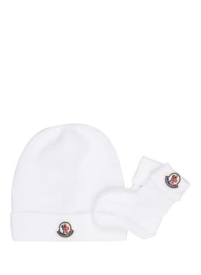 MONCLER enfant Set: Mütze und Socken