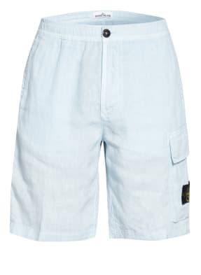 STONE ISLAND Cargo-Shorts aus Leinen