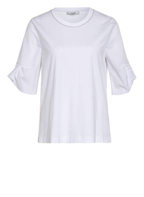PESERICO T-Shirt mit Schmucksteinbesatz