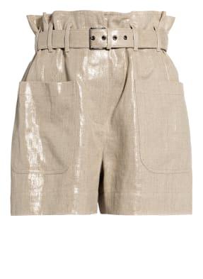 BRUNELLO CUCINELLI Paperbag-Shorts aus Leinen