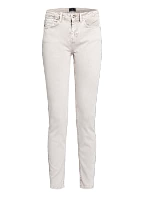 monari Skinny Jeans mit Schmucksteinbesatz