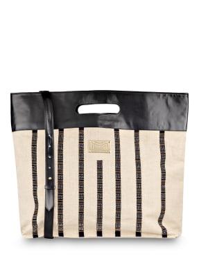 MARYAN MEHLHORN Strandtasche mit Perlenbesatz