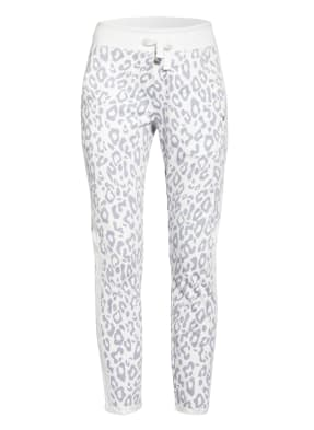 monari Hose WEEKEND FEELING im Jogging-Stil mit Glitzergarn