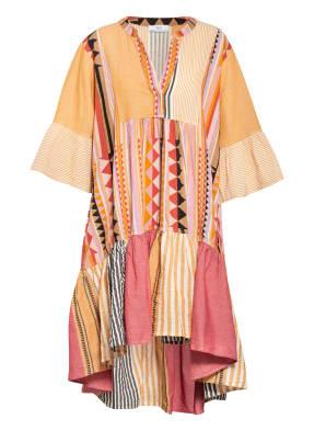 Devotion Kleid mit 3/4-Arm und Volantbesatz