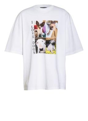 BALENCIAGA Oversized-Shirt I LOVE DOGS