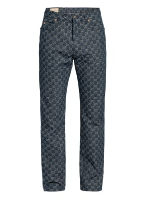 GUCCI Jacquard-Jeans